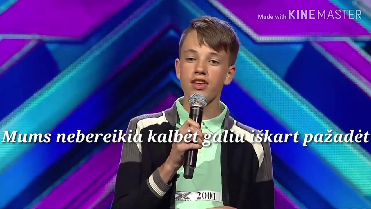 Lukas Zažeckis – Kol myliu (lyrics)