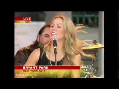 "Sheryl Crow - ""All I Wanna Do"" - Good Morning America (2005)"