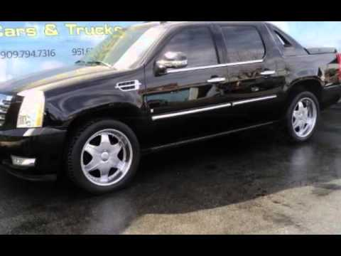 Used Cars And Trucks >> Used 2007 Cadillac Escalade EXT Crew Cab for sale in