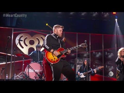 "Brandon Ray - ""Living on A Prayer"" w/  Bobby Bones & The Raging Idiots- iHeart Country Festival"