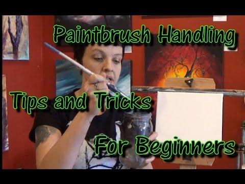 Basic Paintbrush Handling Acrylic Tips and Tricks for Beginners