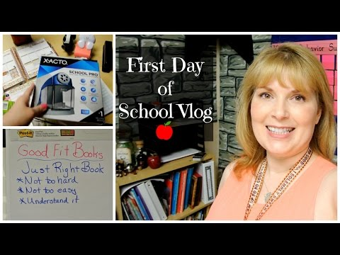 🍎First Day of School Vlog