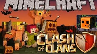 Minecraft: Clash of Clans Episode 1: The Piston Door