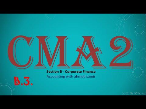المحاضرة رقم 20 : زيادة رأس المال (Raising Capital)