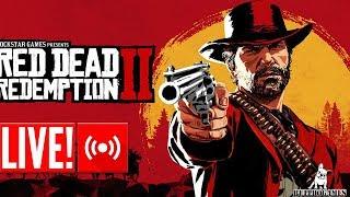 LIVE - Red Dead Redemption 2 - O GATILHO MAIS RÁPIDO DO OESTE - PARTE 4
