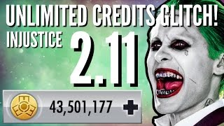 INJUSTICE 2.11 INFINITE CREDITS GLITCH!!! [iOS 10 PATCHED] BEST INJUSTICE 2.11 GLITCH EVER?!!