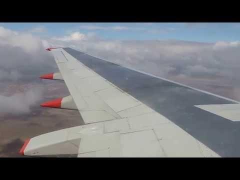 Jet2 737-300 Landing at Blackpool Airport