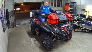 Тюнинг квадроцикла CF Moto X8