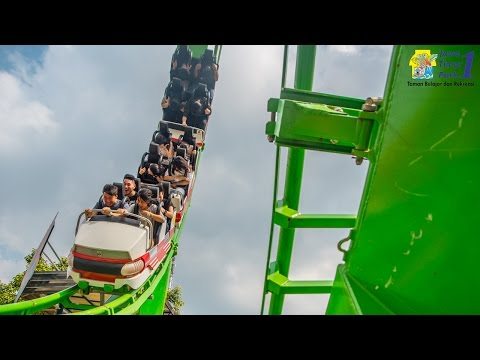 Wahana Ekstrim: Superloop Coaster - Jatim Park 1