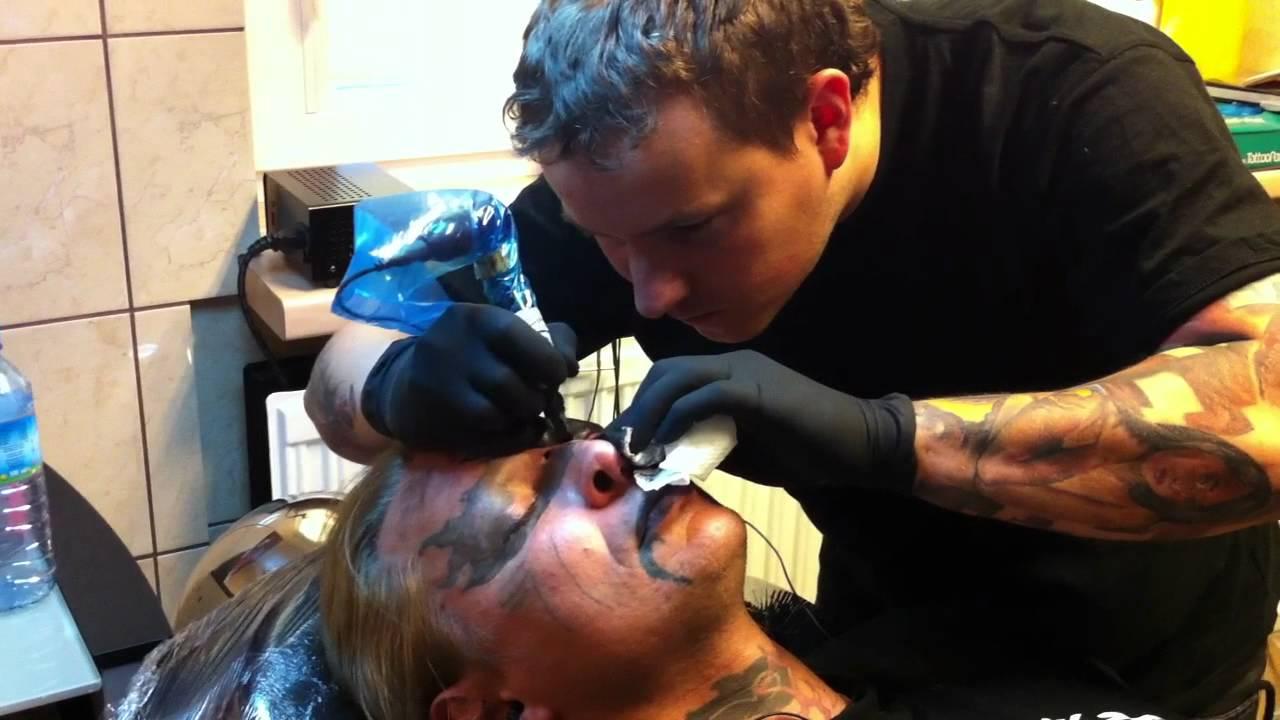 Tatuaż Na Twarzy Face Tattoo