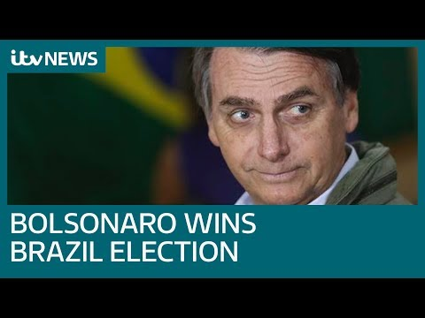 Far-right candidate Jair Bolsonaro wins Brazil presidential election | ITV News