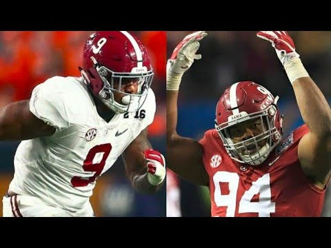 Alabama Defensive Lineman Mix 2018