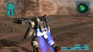 Mobile Suit Gundam: Crossfire PlayStation 3 Gameplay -