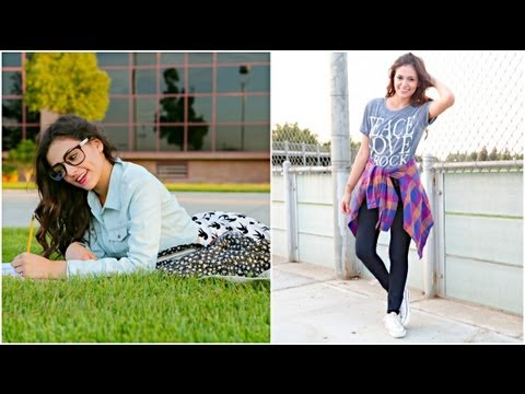 Perfect Back To School Hair Makeup Outfit Bethany Mota Video