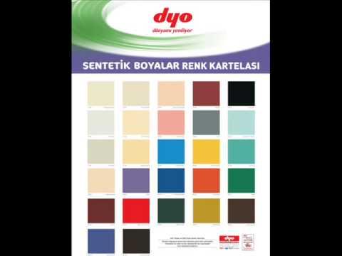 2014 Dyo Renk Kartelası Youtube