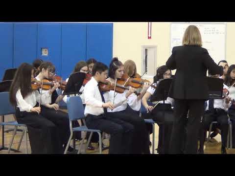 JLMS Jack London Middle School Symphony Orchestra plays Suo Gan at District 8 IGSMA 2020