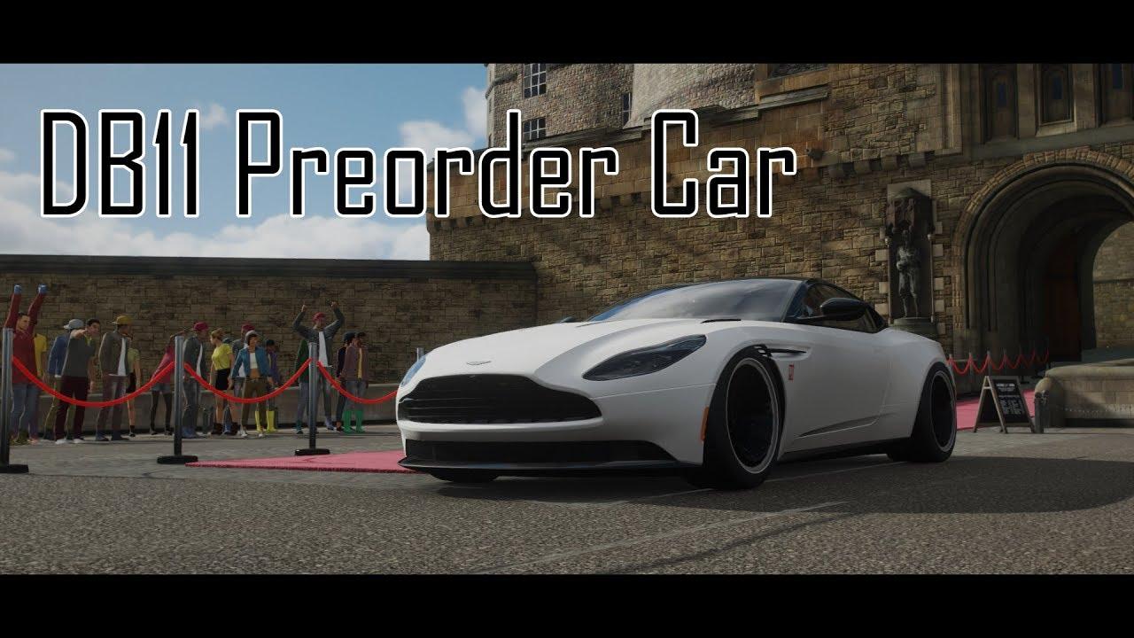 Forza Horizon 4 Preorder Aston Martin Db11 Vs Regular Db11 1080p60 Youtube