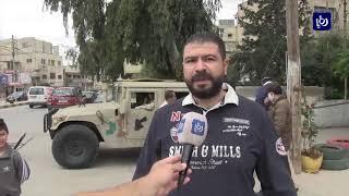 رفع العزل عن أربع بنايات في الحي الشمالي بمدينة إربد (2/5/2020)