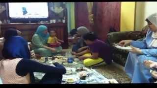 エジプト、ラマダン断食月家族と食事会です。