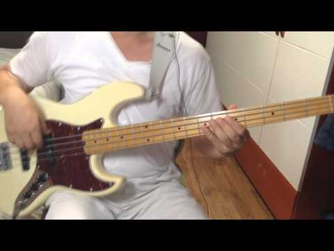 Bali run / Fourplay - Bass cover