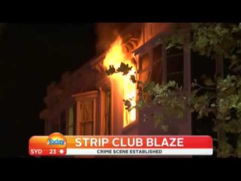 Sydney Strip Club Fire