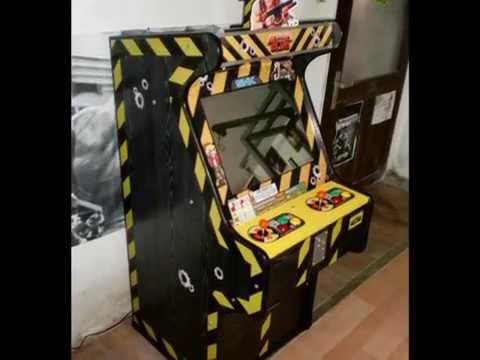 Metal Slug Arcade Cabinet - YouTube