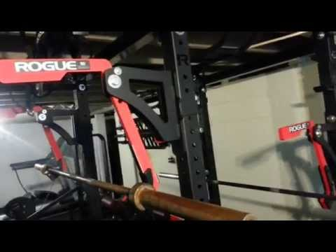 3rd Evolution of the Rogue home basement Powerlifting Gym
