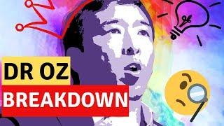 ANDREW YANG   DR OZ INTERVIEW BREAKDOWN