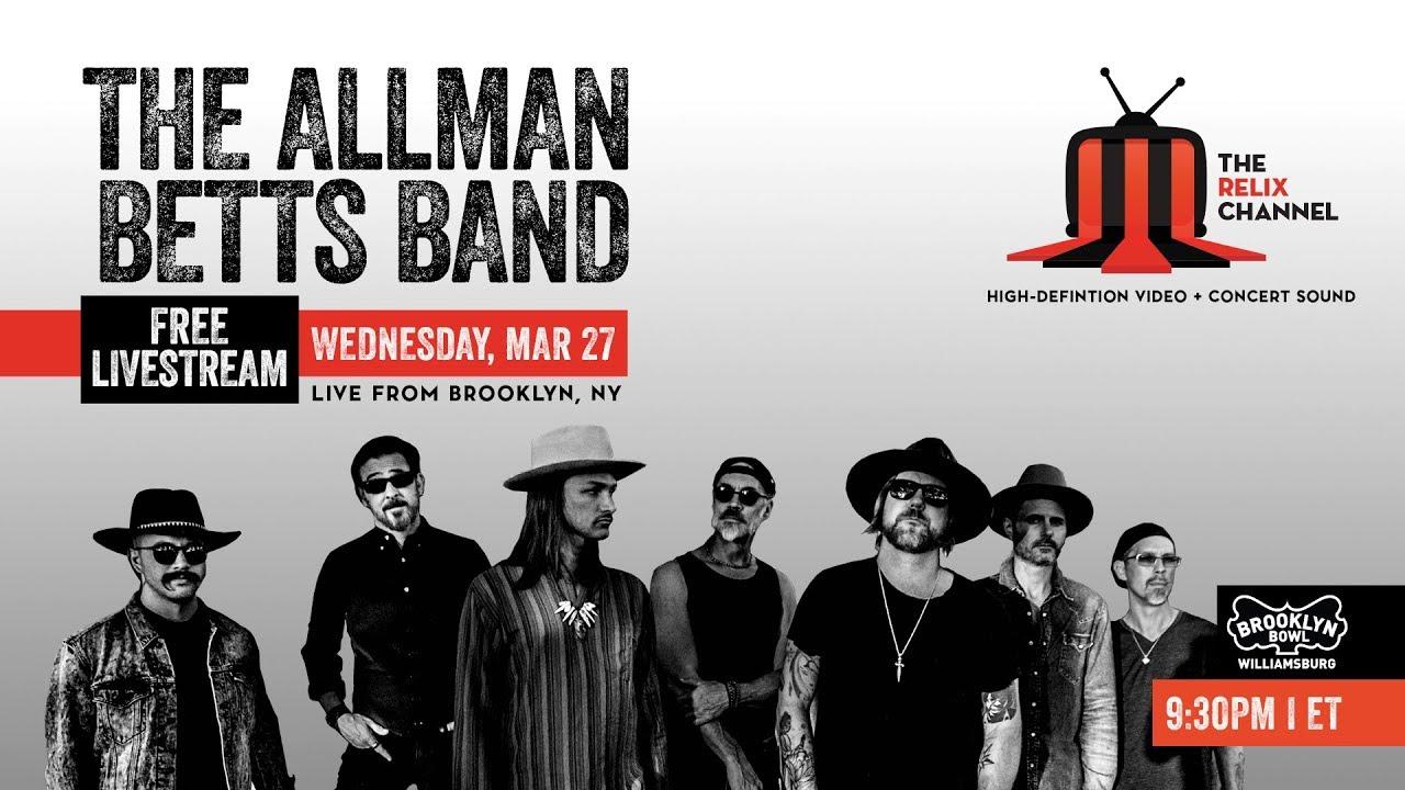 Video: The Allman Betts Band :: 3/27/19 | 9:30PM ET :: Brooklyn Bowl :: Sneak Peek