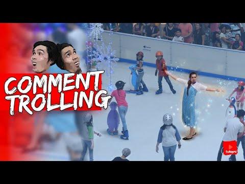 """Kumanta Ng """"Let It Go"""" Sa Ice Skating Ng SM   Comment Trolling"""