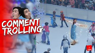"Kumanta Ng ""Let It Go"" Sa Ice Skating Ng SM 