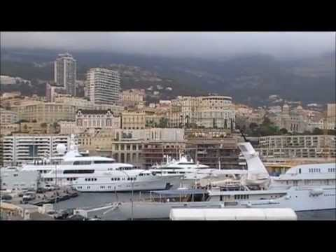 Summer Holidays in Monaco.Motor Boats,Sailing Boats,Yachts,Cruise Ships,Swimming Pools.HD 720p