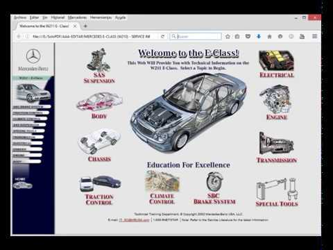 mercedes e class w211 service information owner s manual youtube rh youtube com Mercedes W201 mercedes w211 service manual download