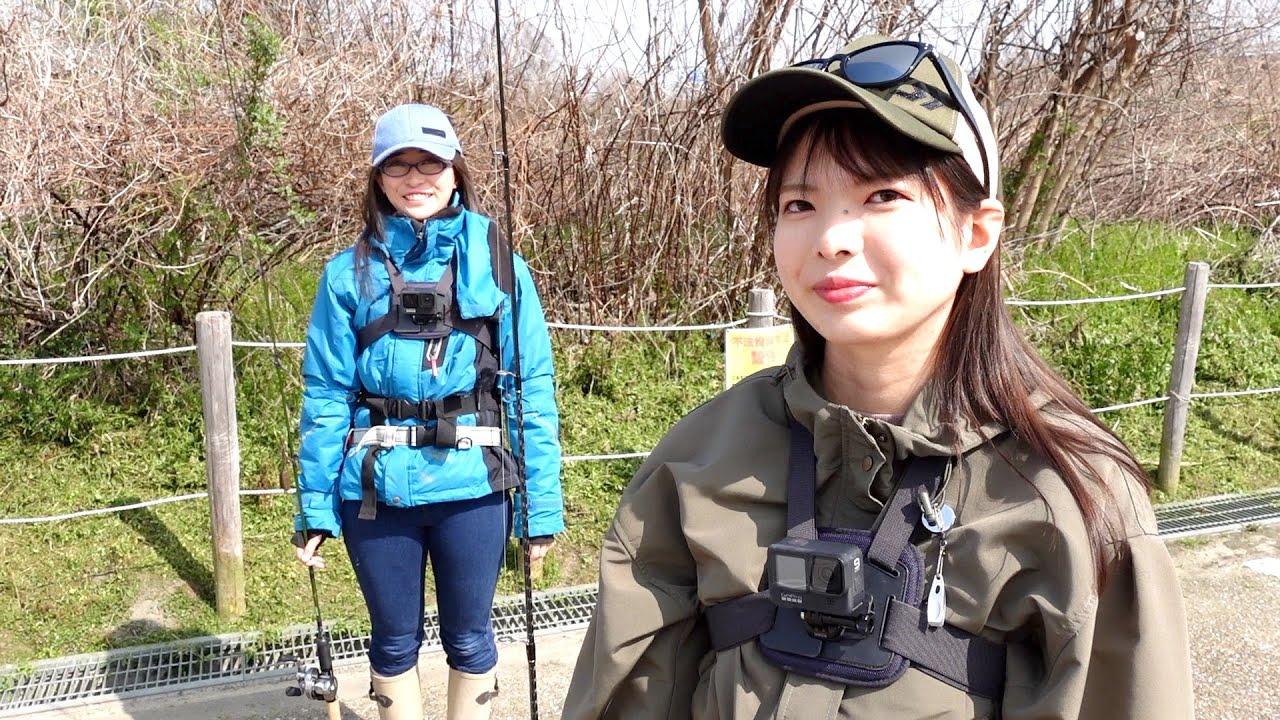 ゆきのとメガネの宇治川バス釣り