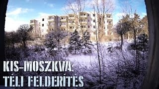 Kis-Moszkva télen - Abandoned soviet military base in winter (GoPro)