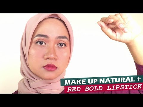 natural-make-up-full-coverage---red-bold-lips