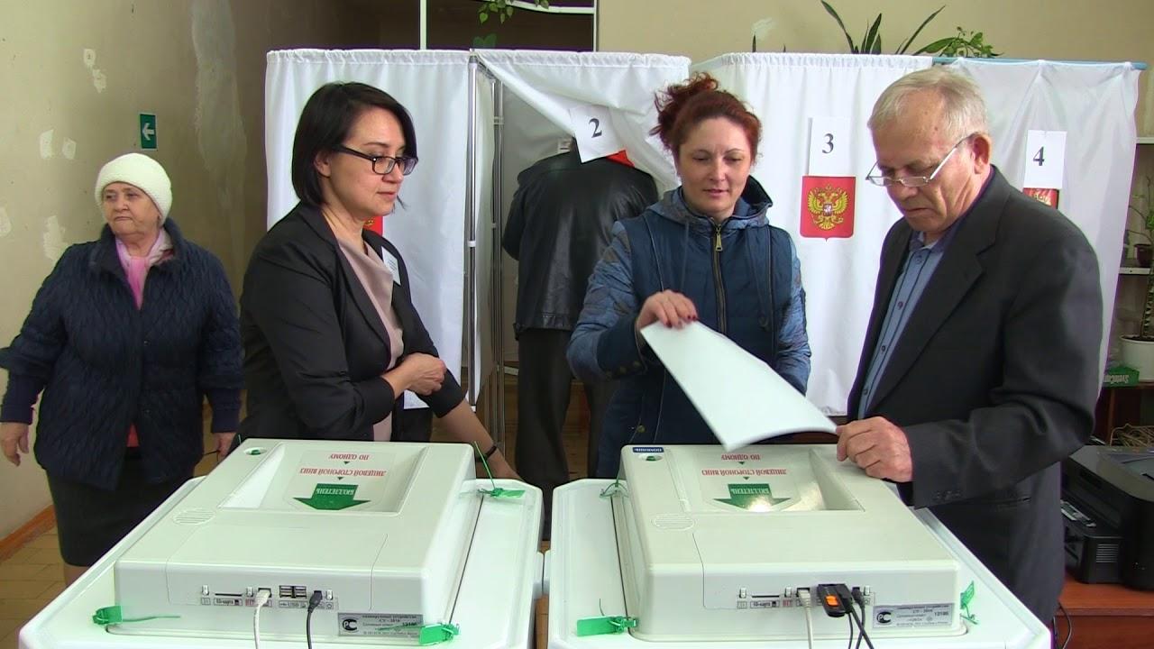 Выборы президента РФ в Быковском районе