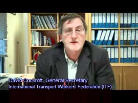 David Cockroft, ITF General Secretary