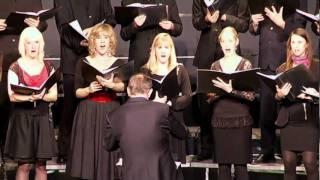 THE TYGER   Emil Råberg, Musikhogskolans Kammarkör Piteå