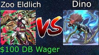 $100 DB Wager Zoodiac Eldlich Vs Dino Yu-Gi-Oh! 2021