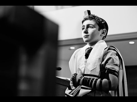 Bar Mitzvah documentary photography: Eduardo slideshow at Chabad South synagogue in Aventura, FL