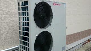 видео Тепловой насос воздух воздух для отопления дома