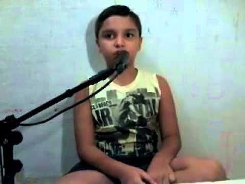 Jr cantando p/ papai Adriano Uchôa