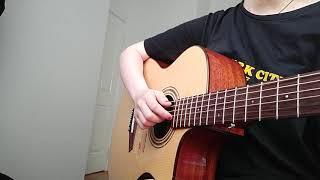 Có chàng trai viết lên cây- Từ đó ( Nhạc phim Mắt biếc ) ghita covered