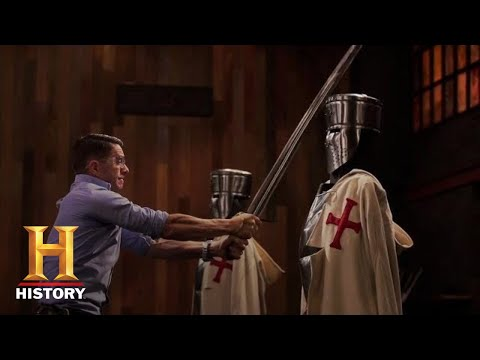 Forged in Fire: Crusader Sword IMPALES Final Round (Season 4) | History