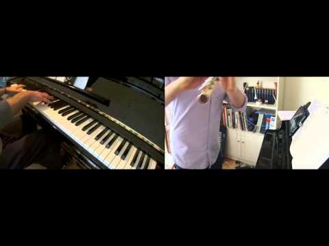 'The Bygone Days' (Kaerazaru Hibi), Porco Rosso, Flute & Piano Duet