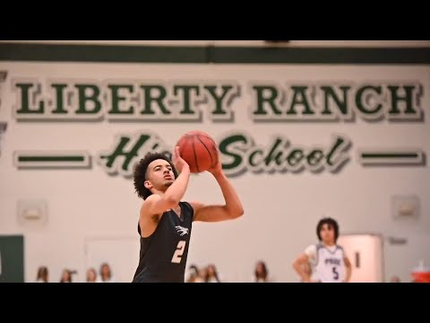 Watch Liberty Ranch High School's Jalen Patterson in action