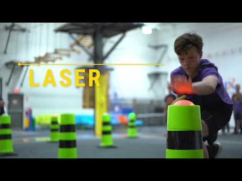 Laser Chase - Interactive Game for Students