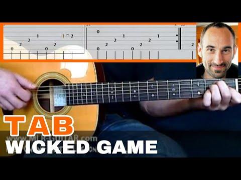 Wicked Game guitar Tab