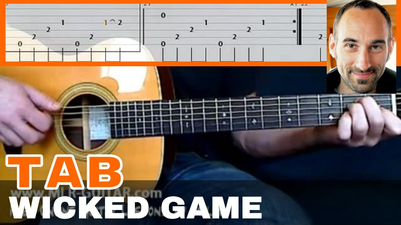 Wicked Game Guitar Tab Youtube